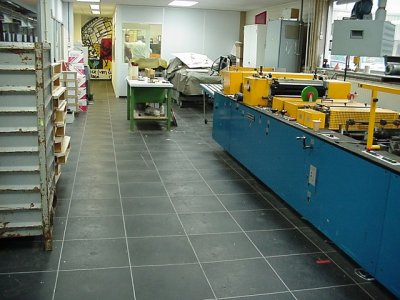 Heavy industry flooring